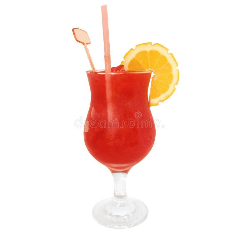 Cocktail do daiquiri de morango imagem de stock