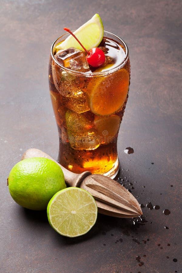 Cocktail do libre de Cuba fotografia de stock royalty free