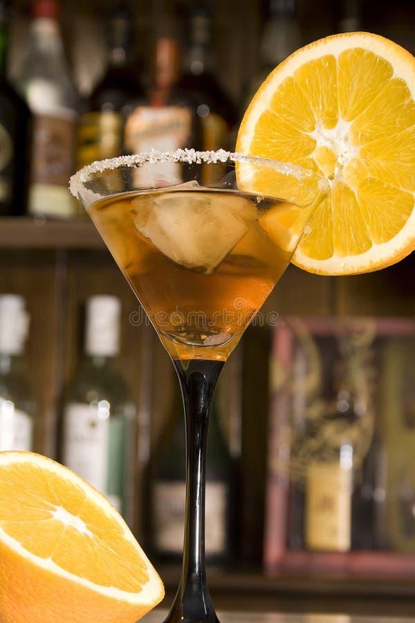 Cocktail do limão fotografia de stock