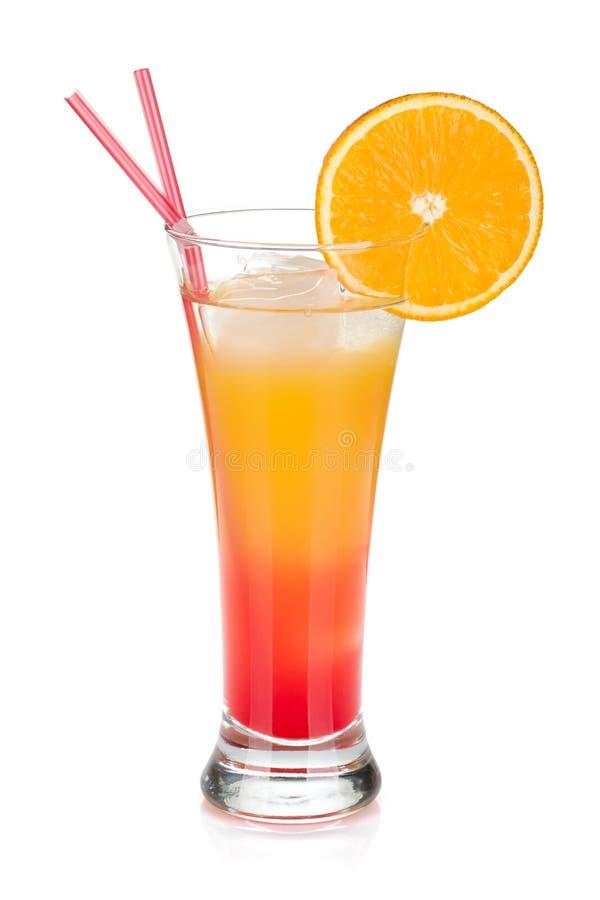 Cocktail do nascer do sol do Tequila imagem de stock royalty free