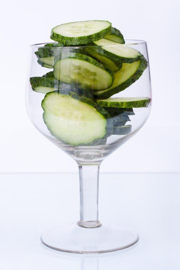 Cocktail do pepino fotos de stock