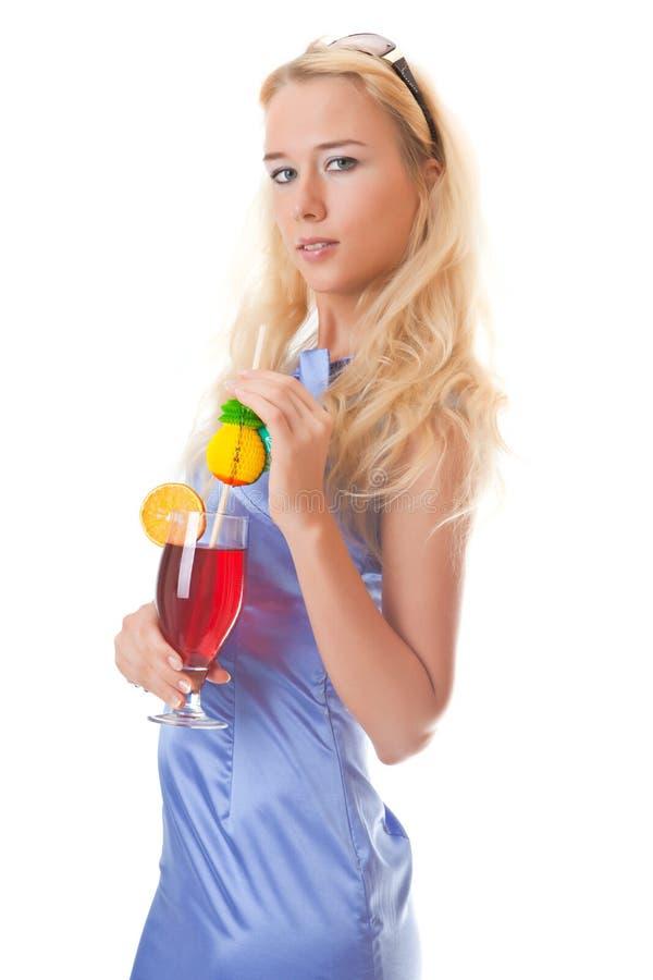 Cocktail do verão imagem de stock