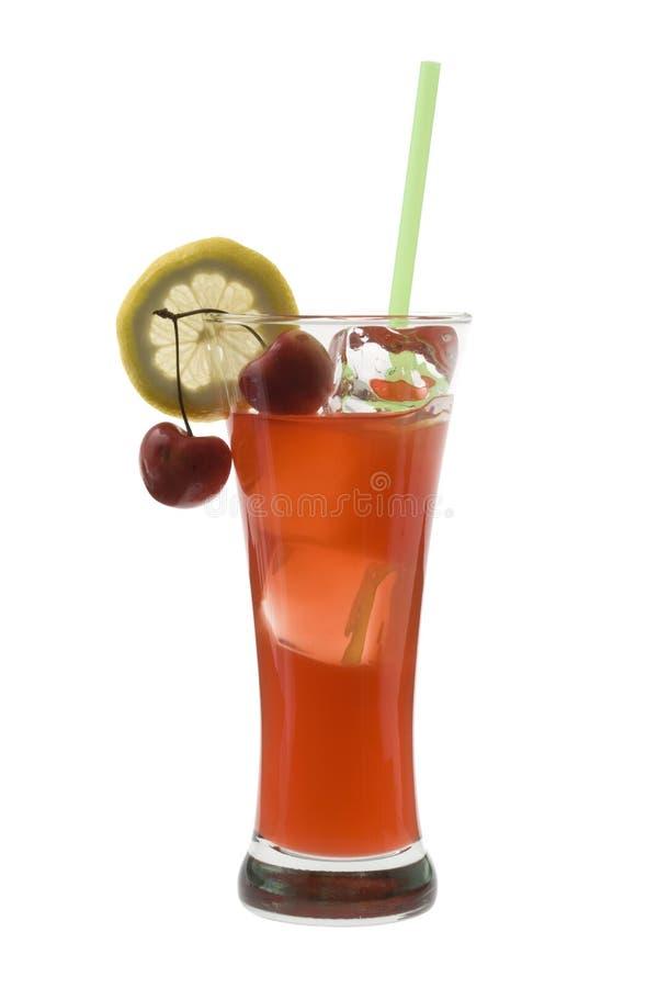 Cocktail do zombi em um fundo branco imagens de stock royalty free