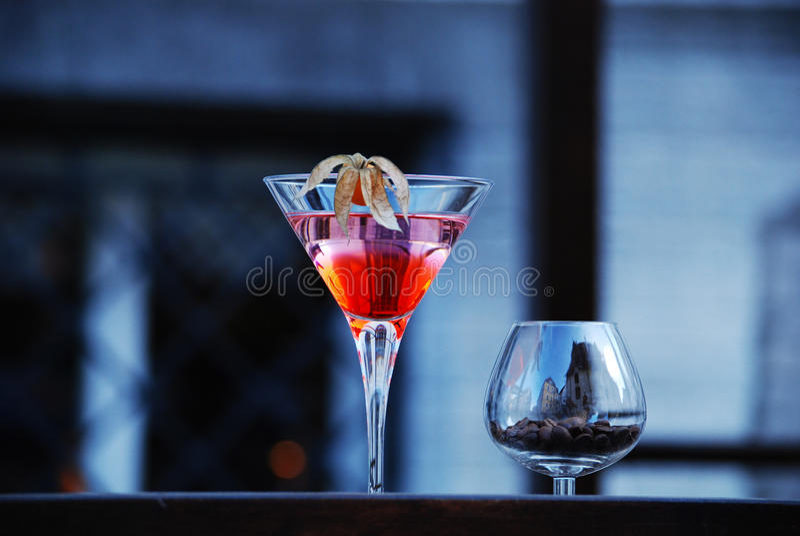 Cocktail doces foto de stock