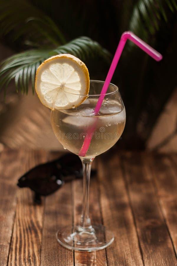 cocktail drank Citroen stock fotografie