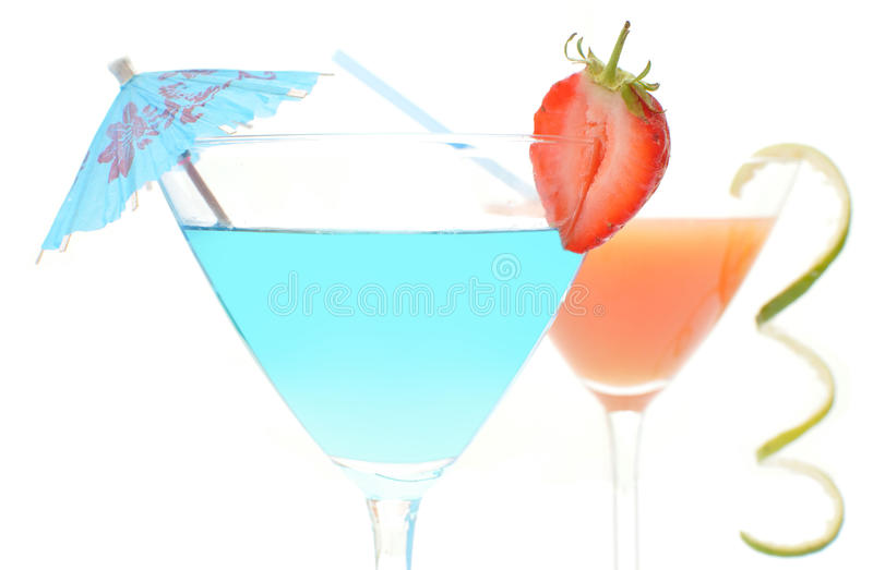 Cocktail drinks royalty free stock photos