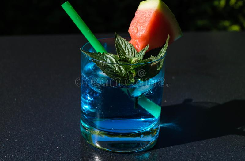 Cocktail e longdrinks fotografia stock libera da diritti