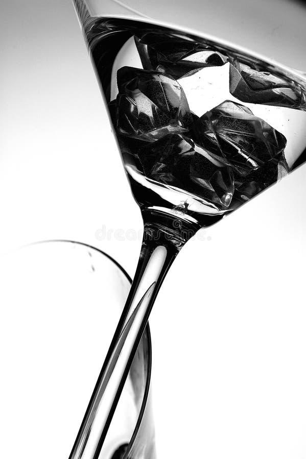Cocktail escuro imagem de stock
