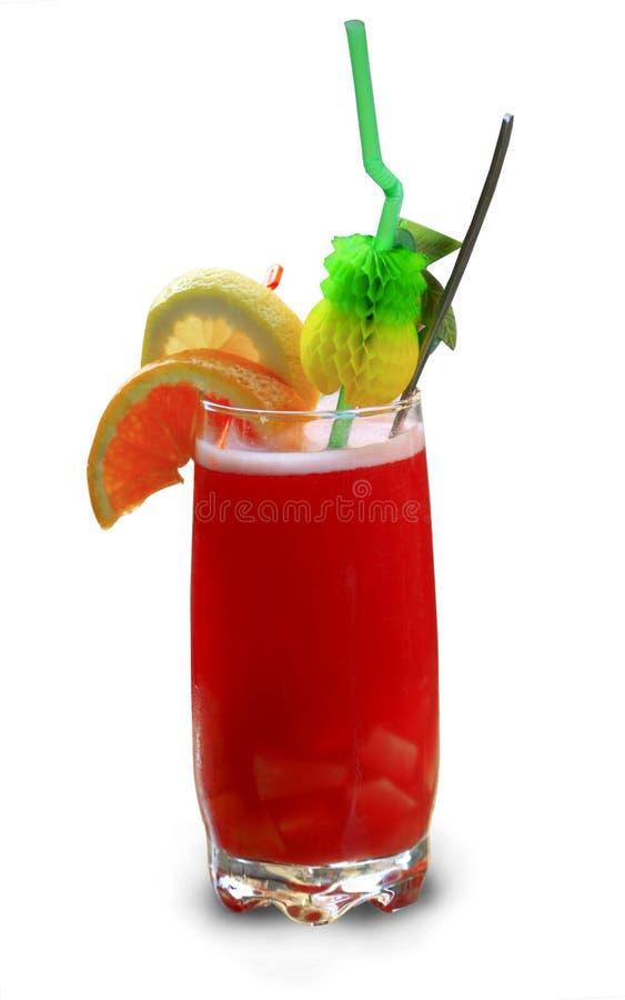 Cocktail exotique délicieux et régénérateur. images libres de droits