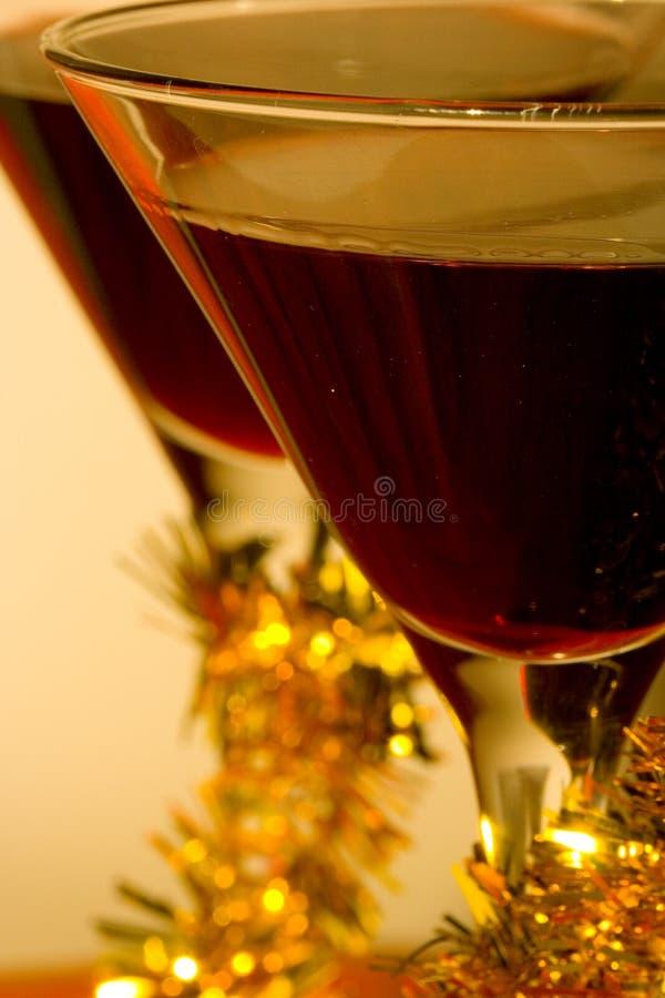 Cocktail festivos imagens de stock royalty free