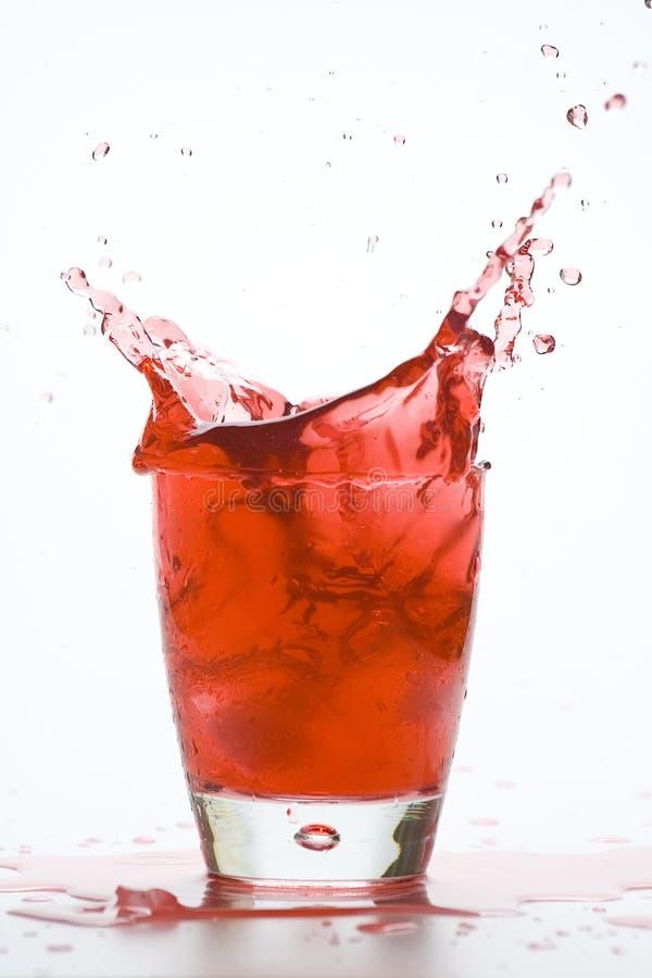 Cocktail freddo di vetro fresco immagini stock
