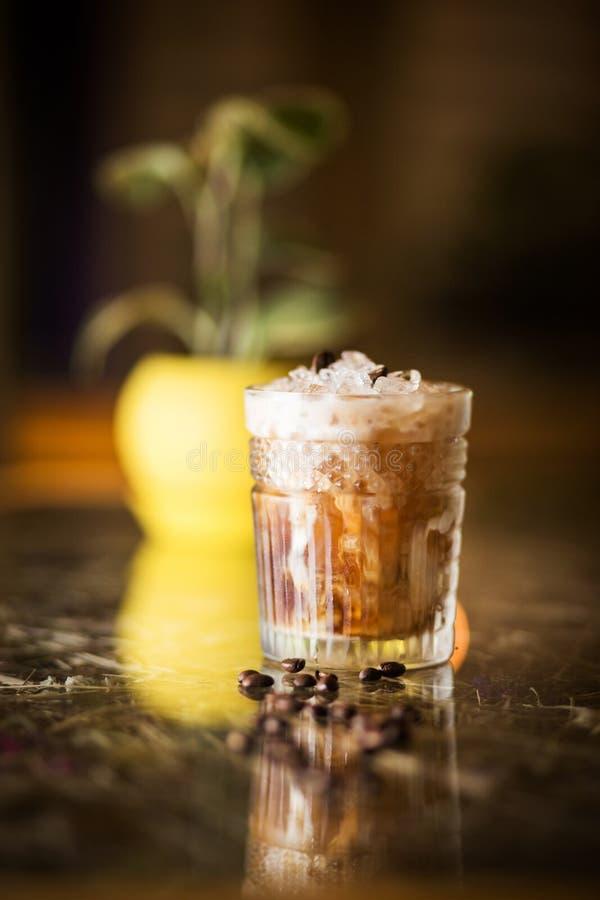 Cocktail frio do café imagem de stock royalty free