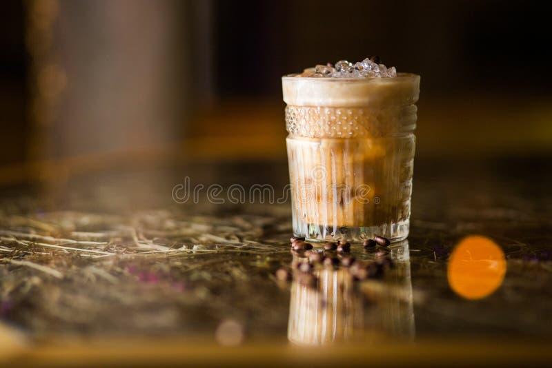 Cocktail frio do café imagens de stock
