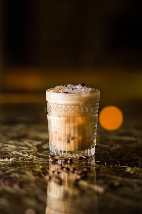 Cocktail frio do café imagem de stock