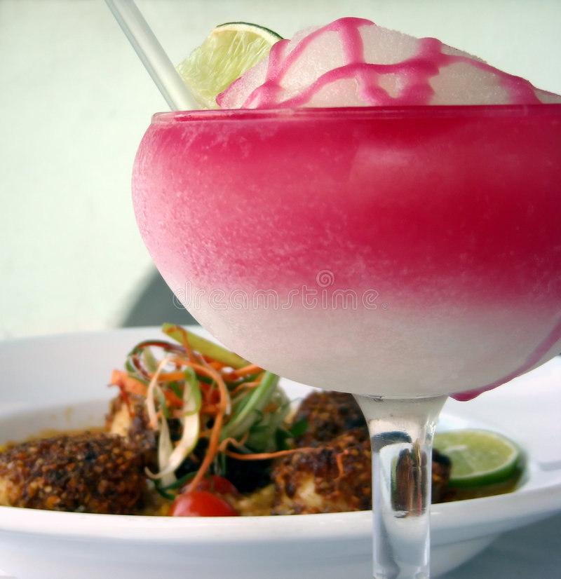 Cocktail givré de Tequila images stock