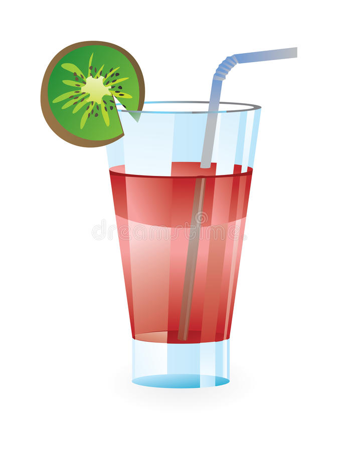Download Cocktail glass stock illustration. Illustration of daiquiri - 12609529
