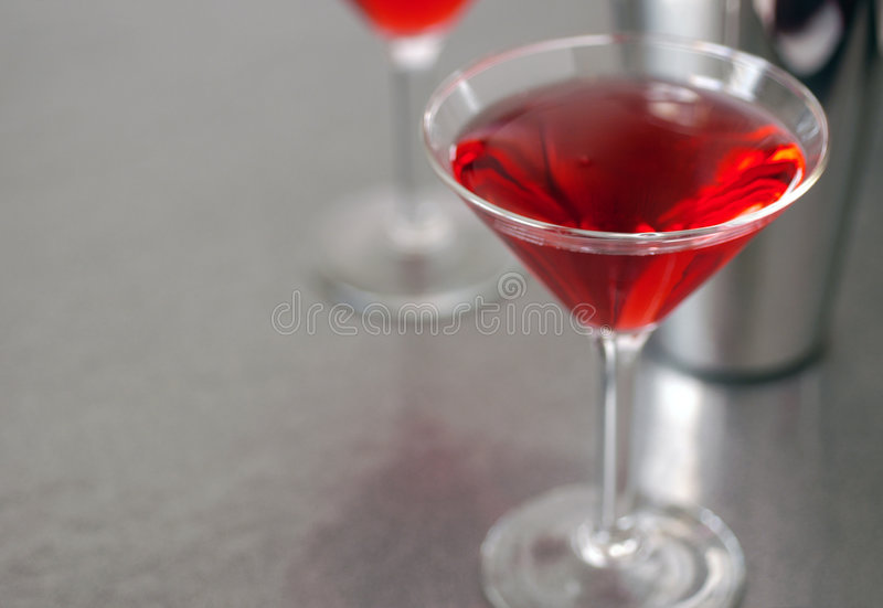 Cocktail Glass 4 stock photo