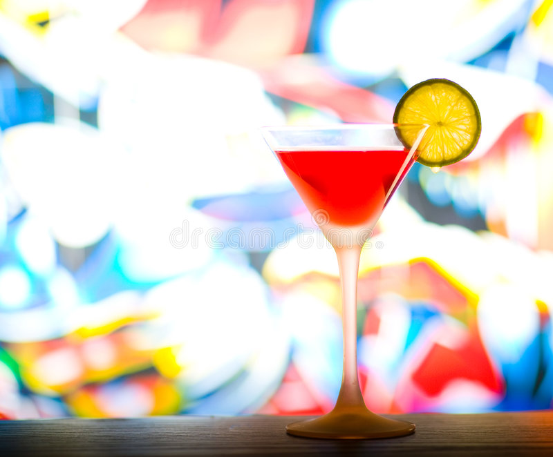 Cocktail glass royalty free stock photography