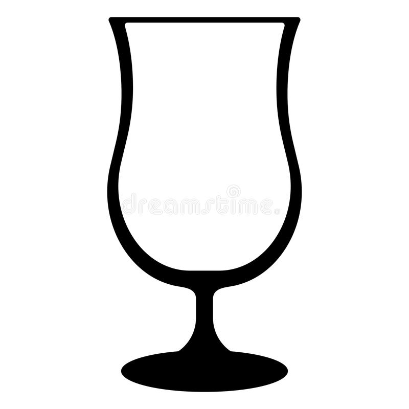 Cocktail Glass vector illustration