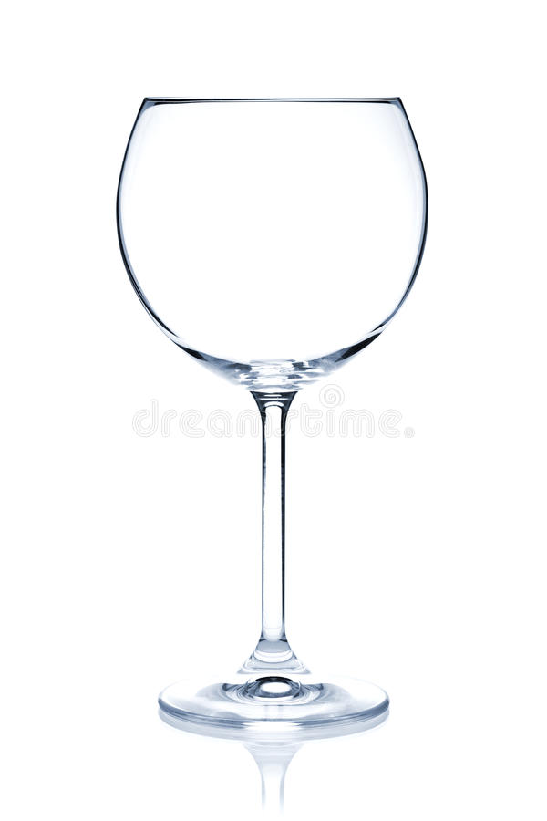 Cocktail Glass collection - Red Wine stock images