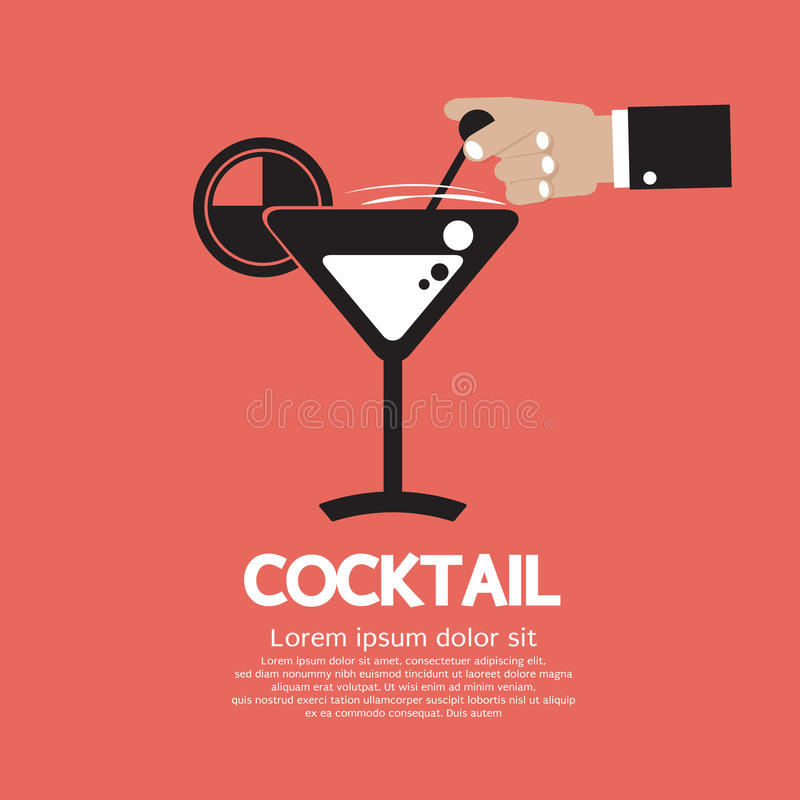 Download Cocktail Glass stock vector. Illustration of wine, summer - 39507844