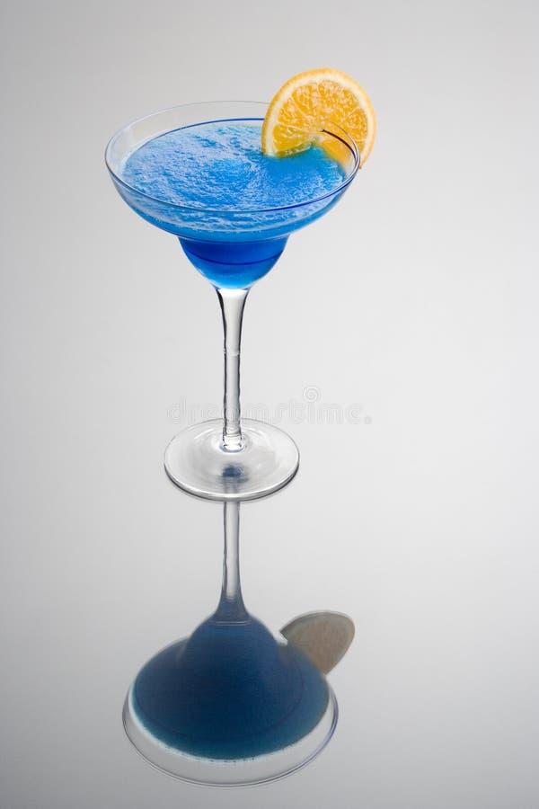 Cocktail hawaïen bleu photo libre de droits