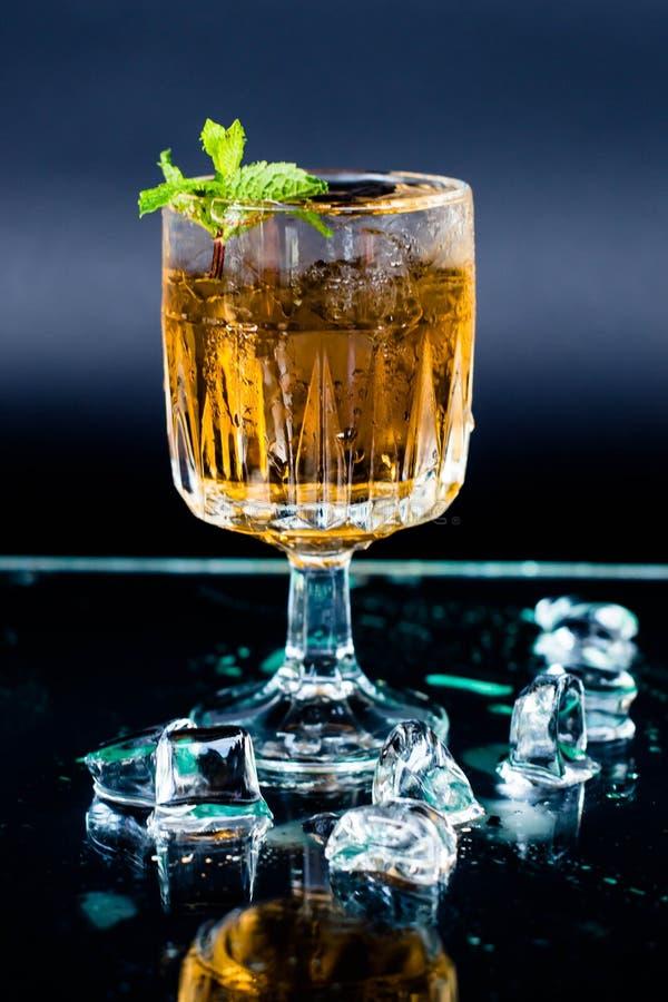 Cocktail Hugo royalty-vrije stock afbeelding
