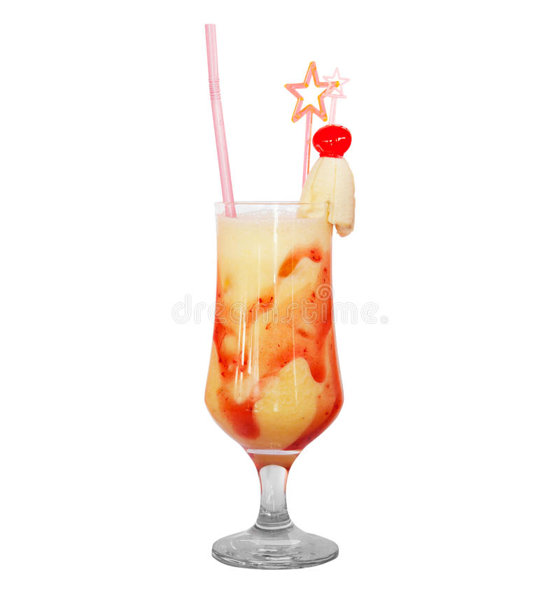 Cocktail isolated royalty free stock image