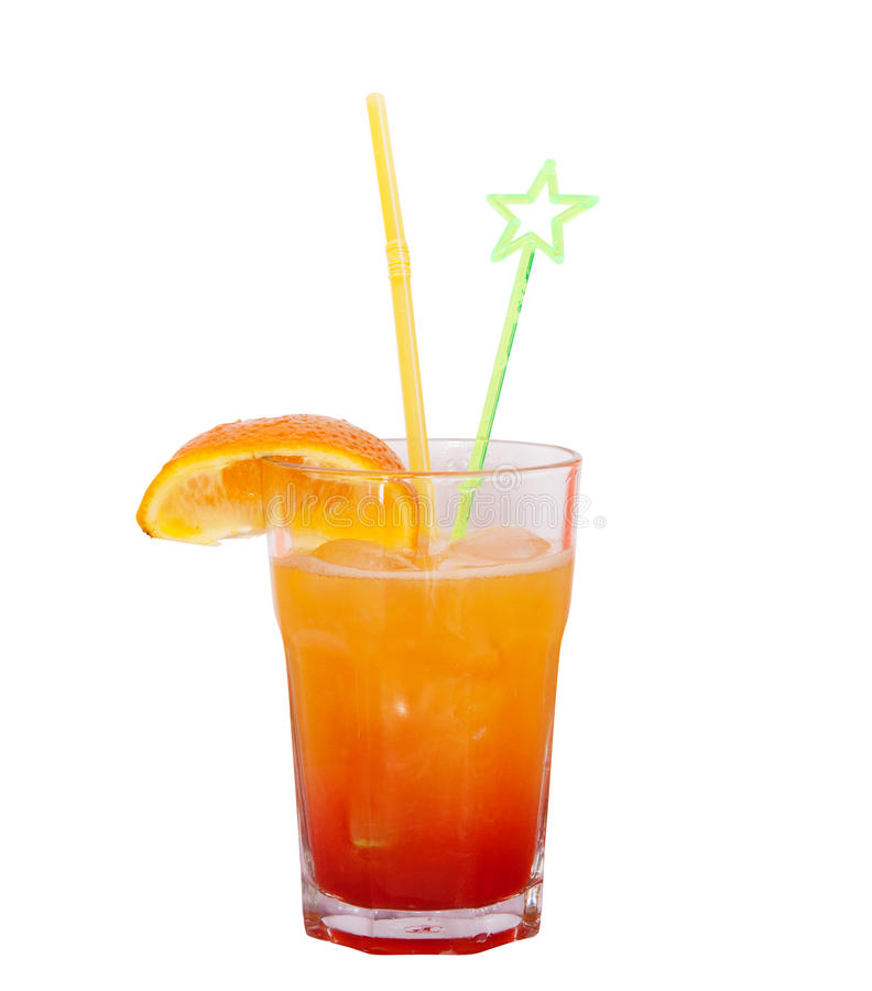 Cocktail isolated royalty free stock images