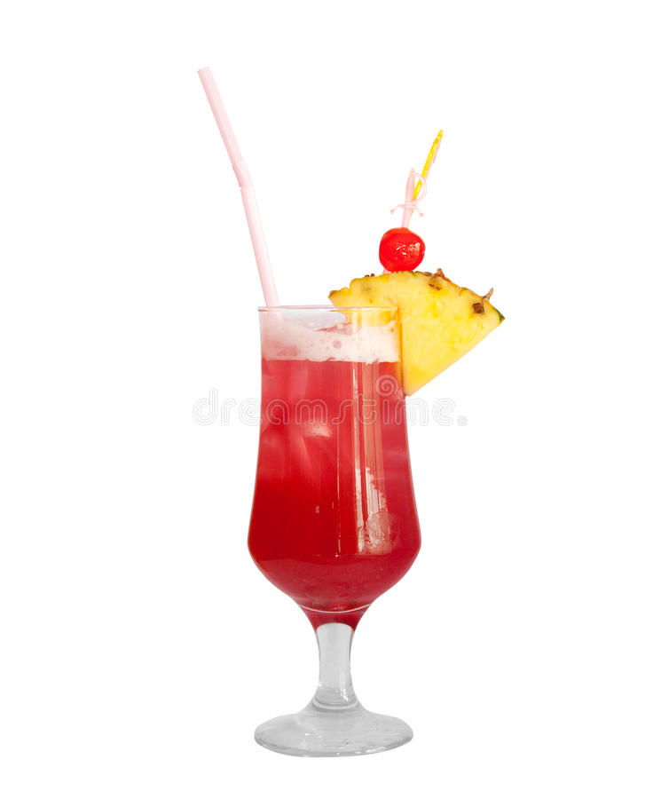 Cocktail isolated stock images