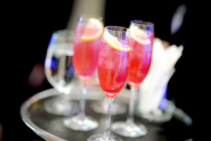 Cocktail - jus de limette photographie stock