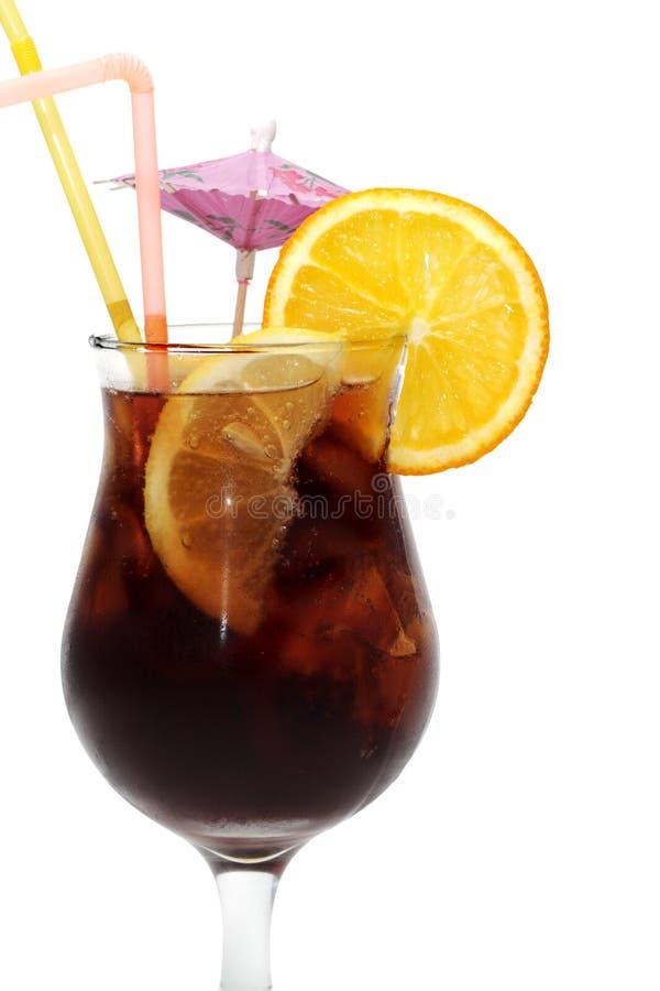 Cocktail - le Long Island a glacé le thé photo libre de droits