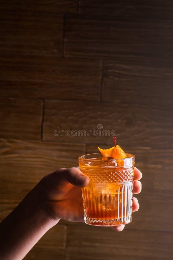 Cocktail luminoso fotografia stock libera da diritti