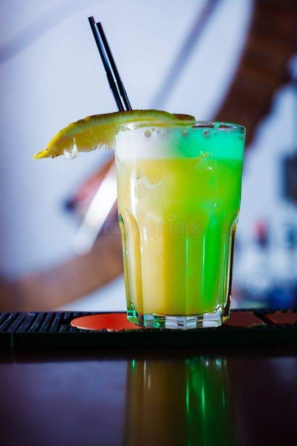 Cocktail lungo fotografie stock
