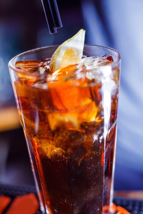 Cocktail lungo fotografie stock libere da diritti