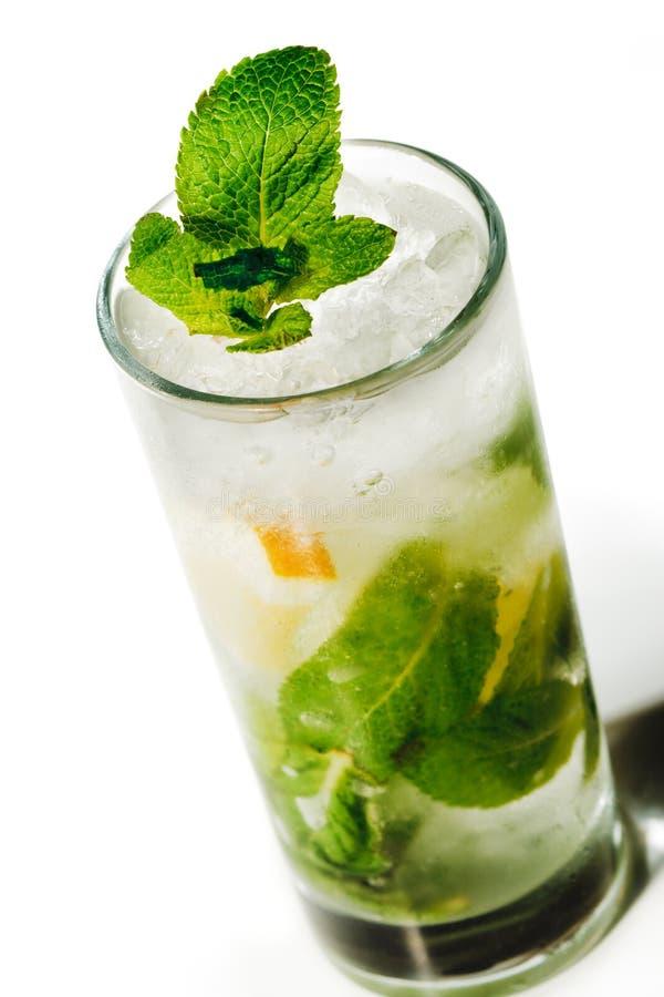Cocktail - Mojito royalty-vrije stock afbeeldingen
