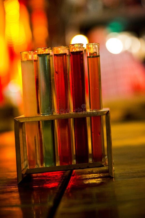 Cocktail moleculars imagens de stock royalty free