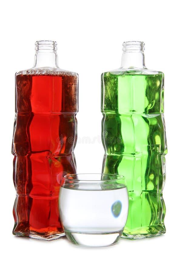 Cocktail no branco foto de stock royalty free