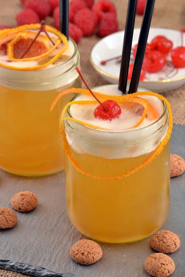 Cocktail orange photo stock