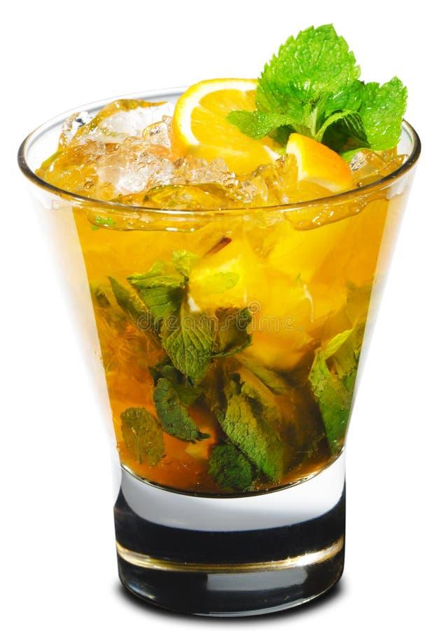 Cocktail - Orange Mojito Stock Photo