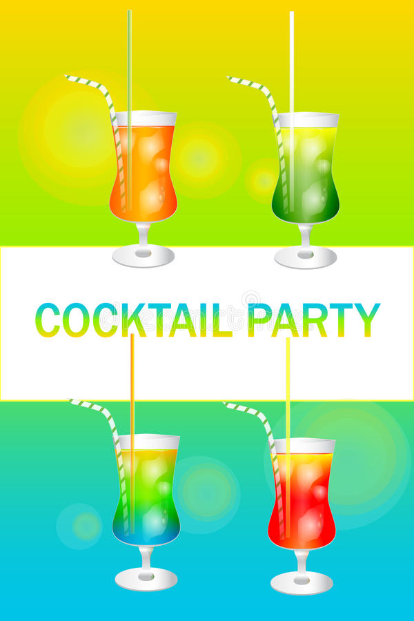 Cocktail party stock foto