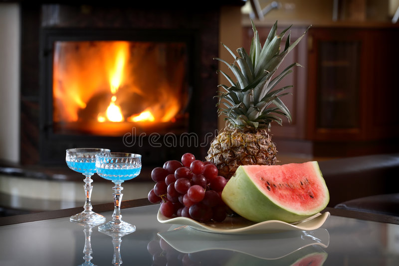 Cocktail perfeitos fotografia de stock royalty free