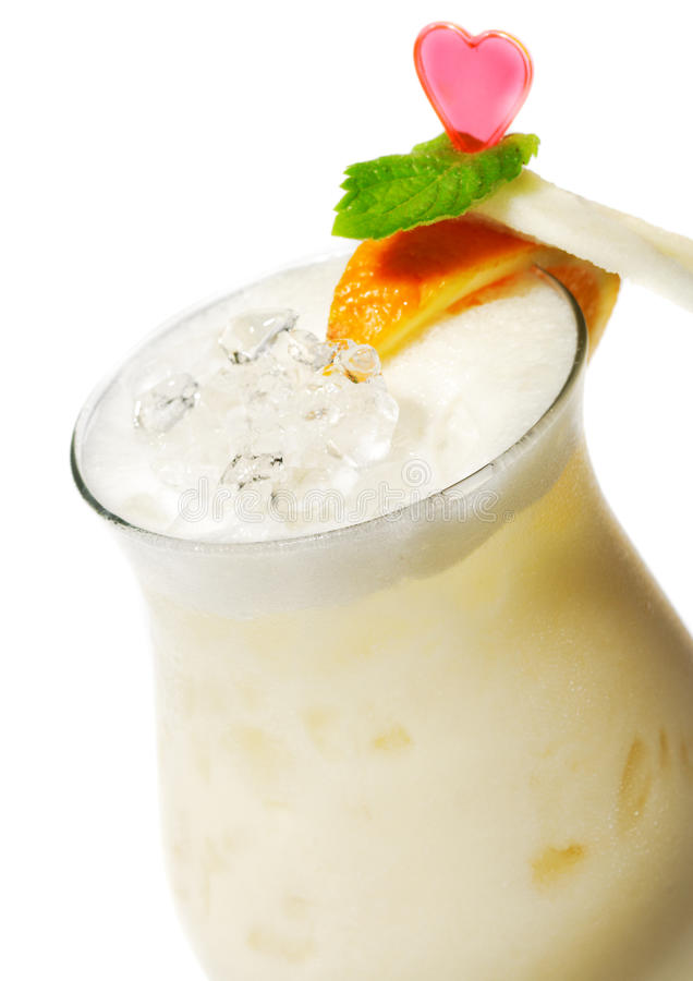 Download Cocktail - Pina Colada stock photo. Image of refreshment - 10429154