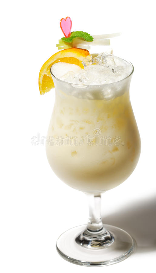 Cocktail - Pina Colada fotos de stock royalty free