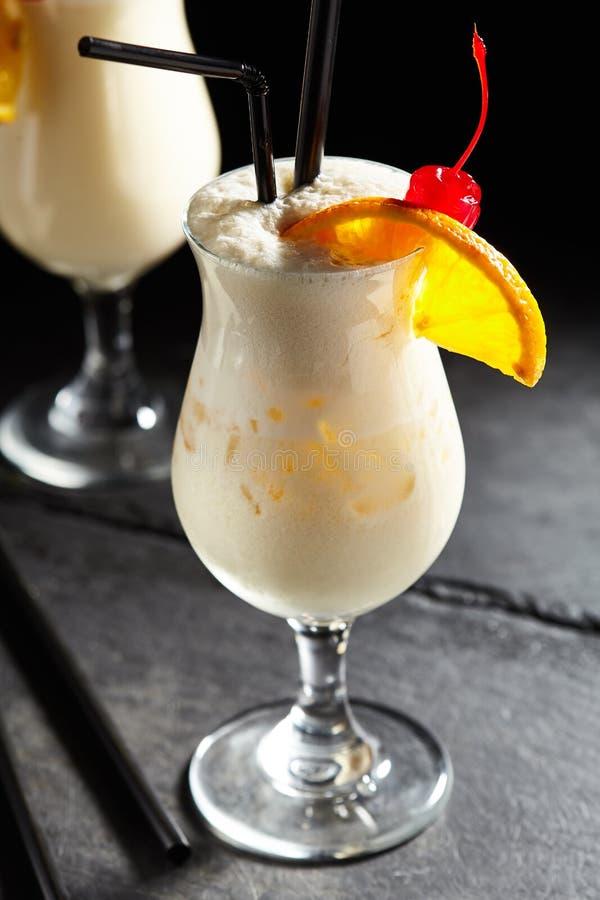 Cocktail Pina-colada stockbilder