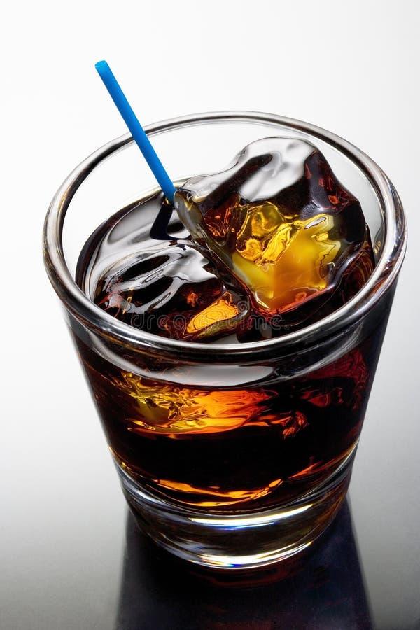 Cocktail preto do russo fotografia de stock