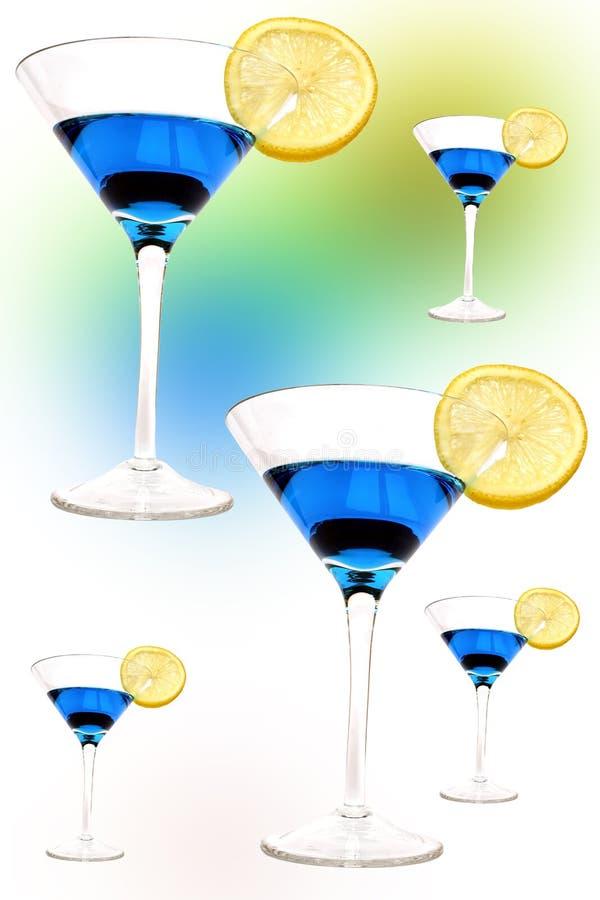 Cocktail psicadélico ilustração royalty free