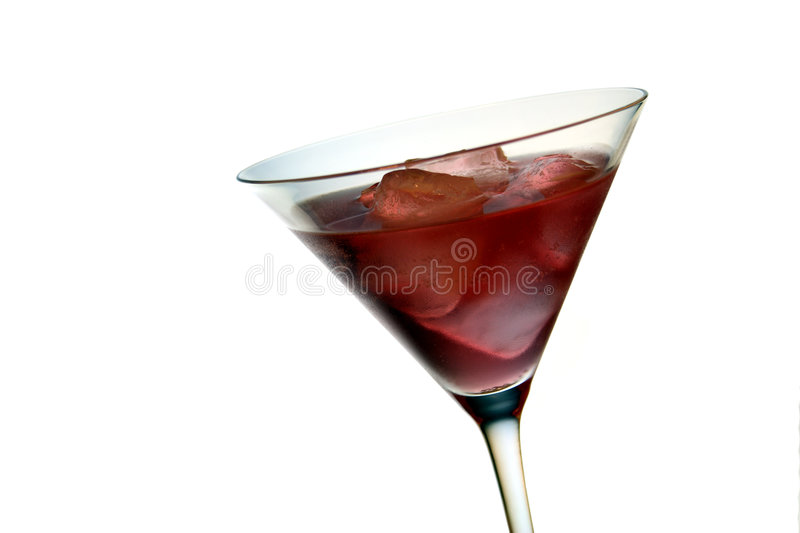 Cocktail rouge photos stock
