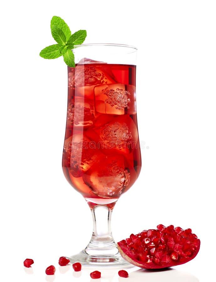Cocktail rouge photo libre de droits