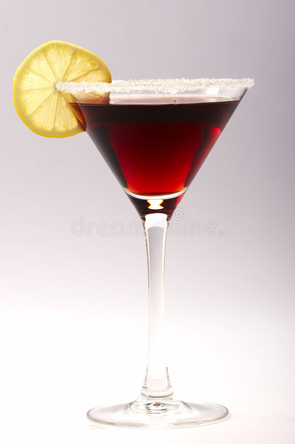 Cocktail rouge image libre de droits